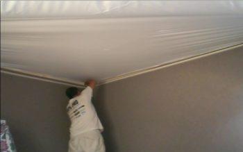 Vinyl Ceiling fabric membrane Stretch ceiling Bradford county