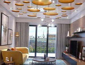 Vinyl Ceiling fabric membrane Stretch ceiling county of Miami-Dade